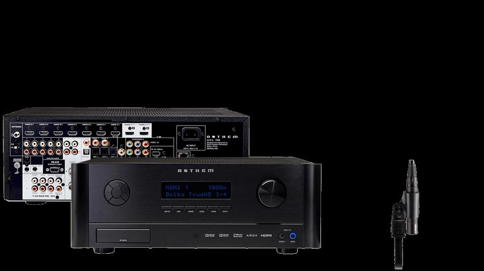 Anthem 174 Premium Audio Video Receivers Amp Powered Amplifiers